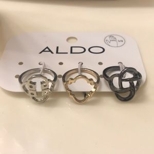 Aldo's ring - set of three